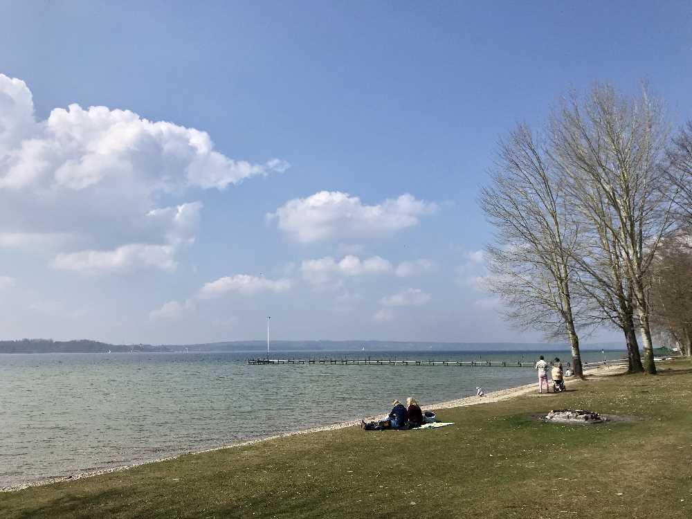 Starnberger See in Bayern - wandern in Ambach im Tölzer Land