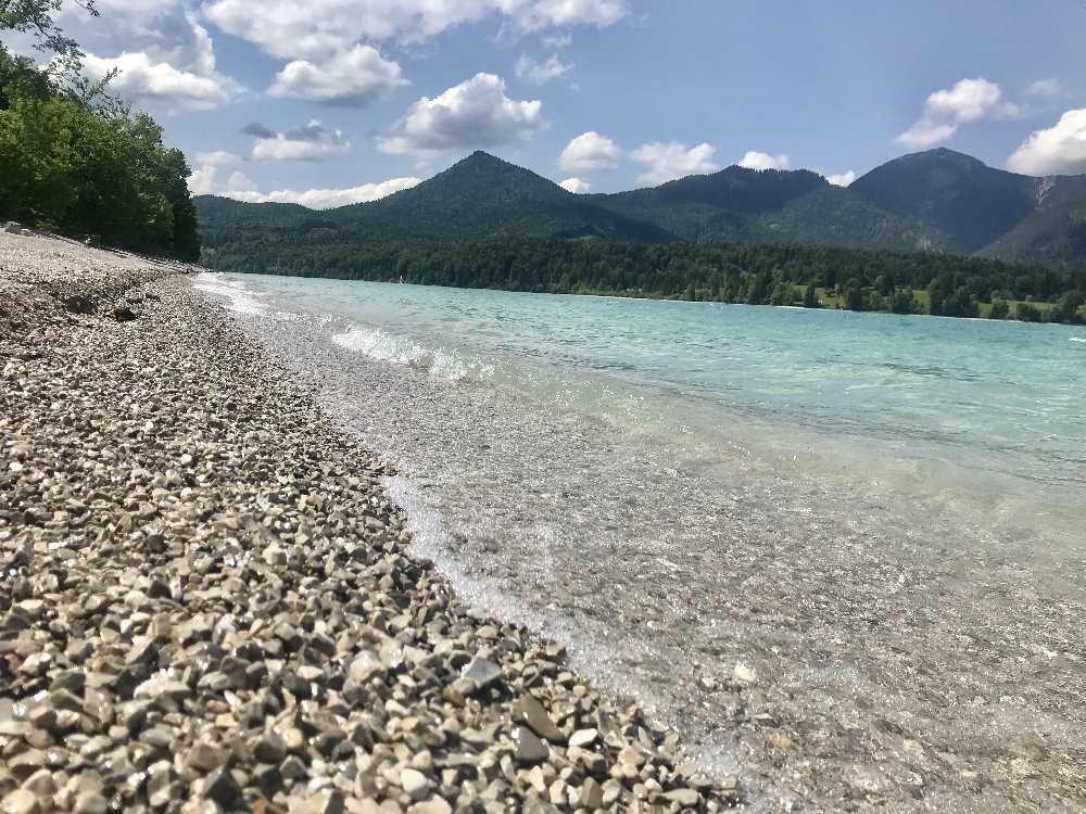 Walchensee baden
