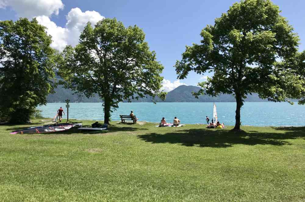Walchensee Schwimmen - ein Genuß nach deiner Walchensee Wanderung!