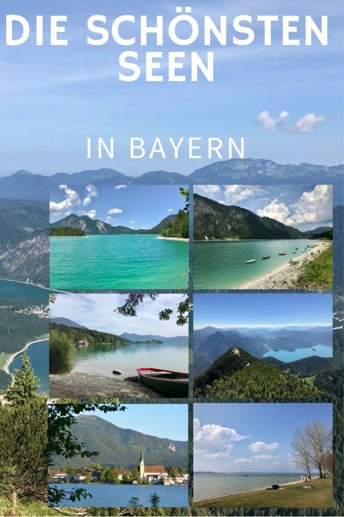 Merk dir diesen Pin auf Pinterest  - und du findest sie schnell wieder, die schönsten Seen in Bayern