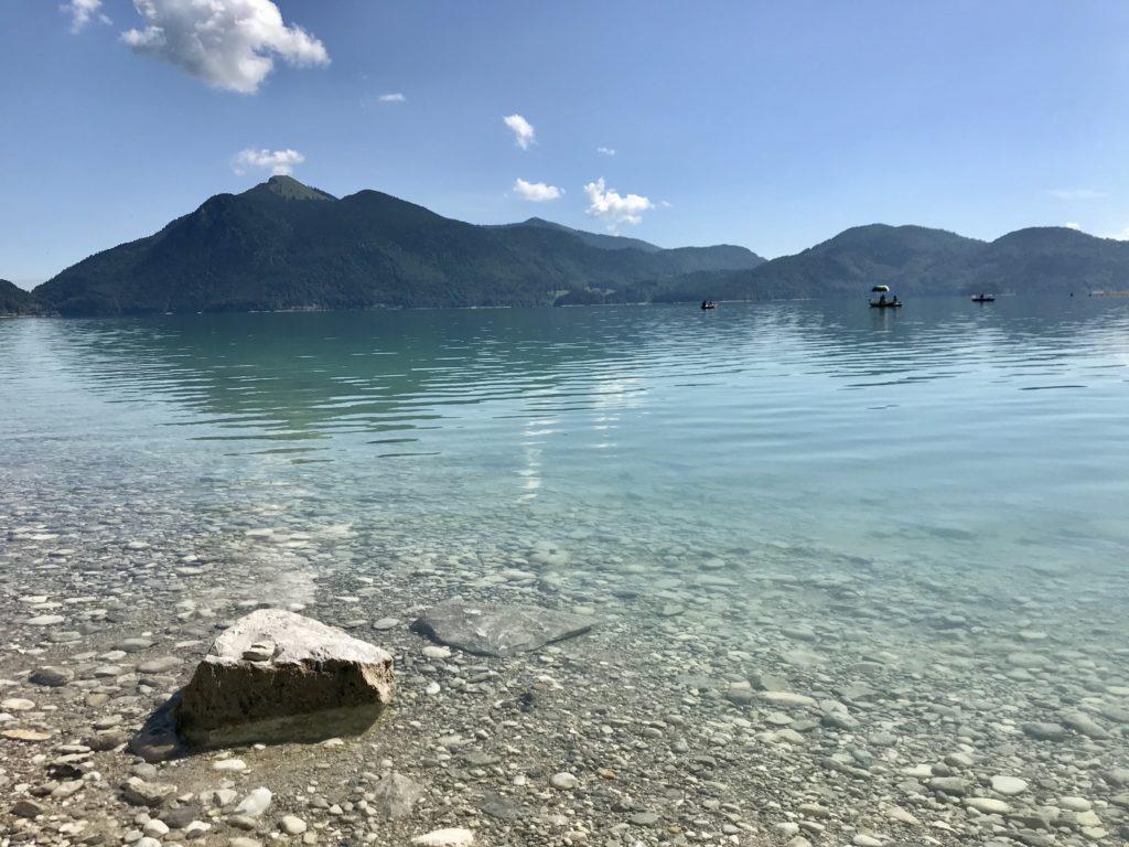 In Bayern am Walchensee wandern - direkt am See oder auf die Berge