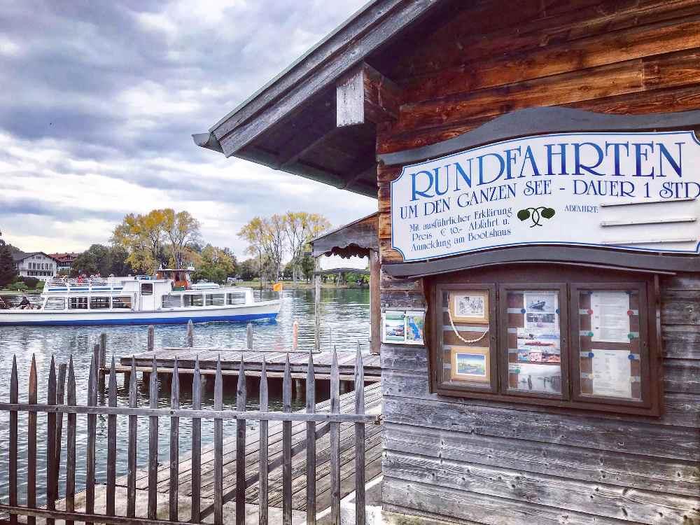 Tegernsee - einer der Seen in Bayern mit Schifffahrt