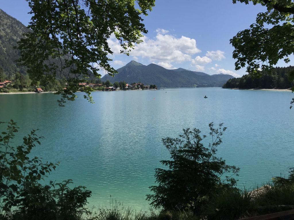 Walchensee Berge  - schöne Wanderziele in Bayern