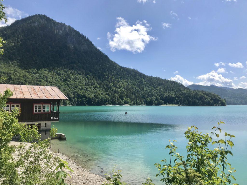 Entspannung in der schönen Natur am Walchensee - willst du das auch?
