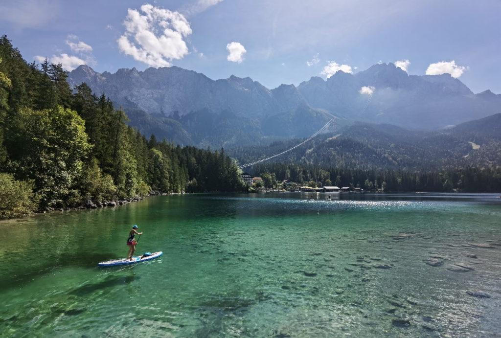 Einer der schönsten Seen in Bayern - der Eibsee