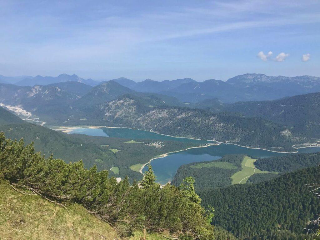 bayerische Karibik Urlaub - und den Fjord von oben erleben!