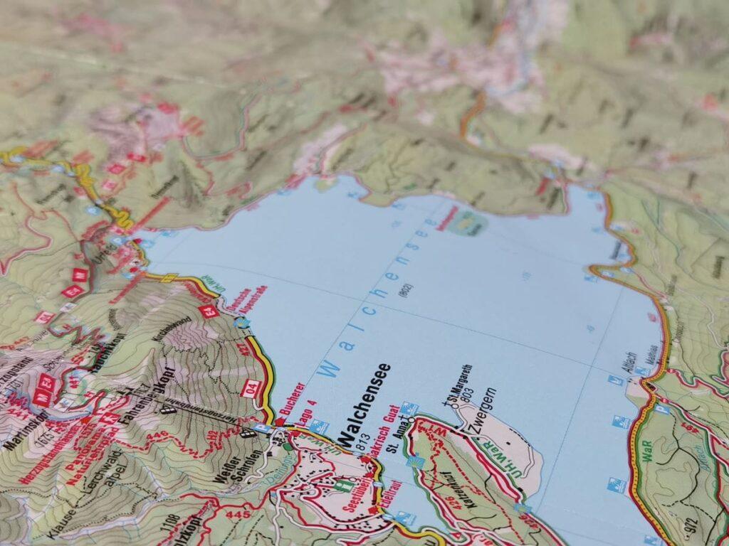 Die perfekte Walchensee Karte