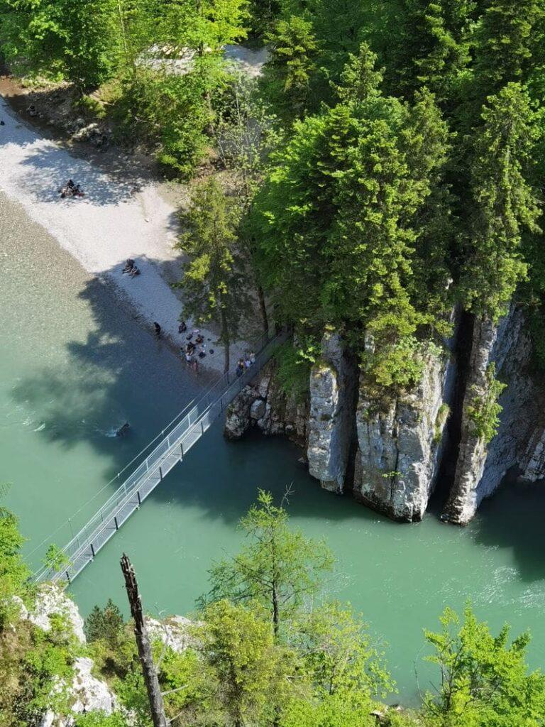 Die schönsten Orte in Deutschland - Durch die Entenlochklamm von Bayern nach Tirol zum Klobenstein