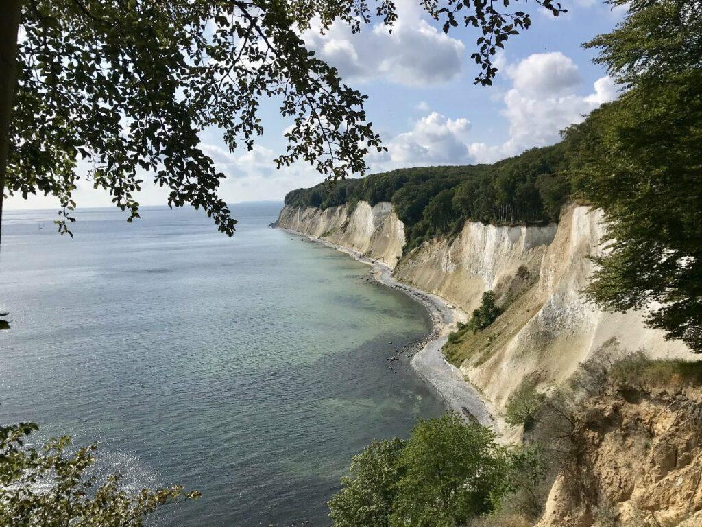 Schon lange auf der Liste der schönsten Orte in Deutschland - die Kreidefelsen Rügen