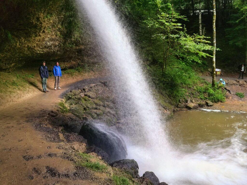 Die schönsten Orte in Deutschland - unser Besuch der Scheidegger Wasserfälle