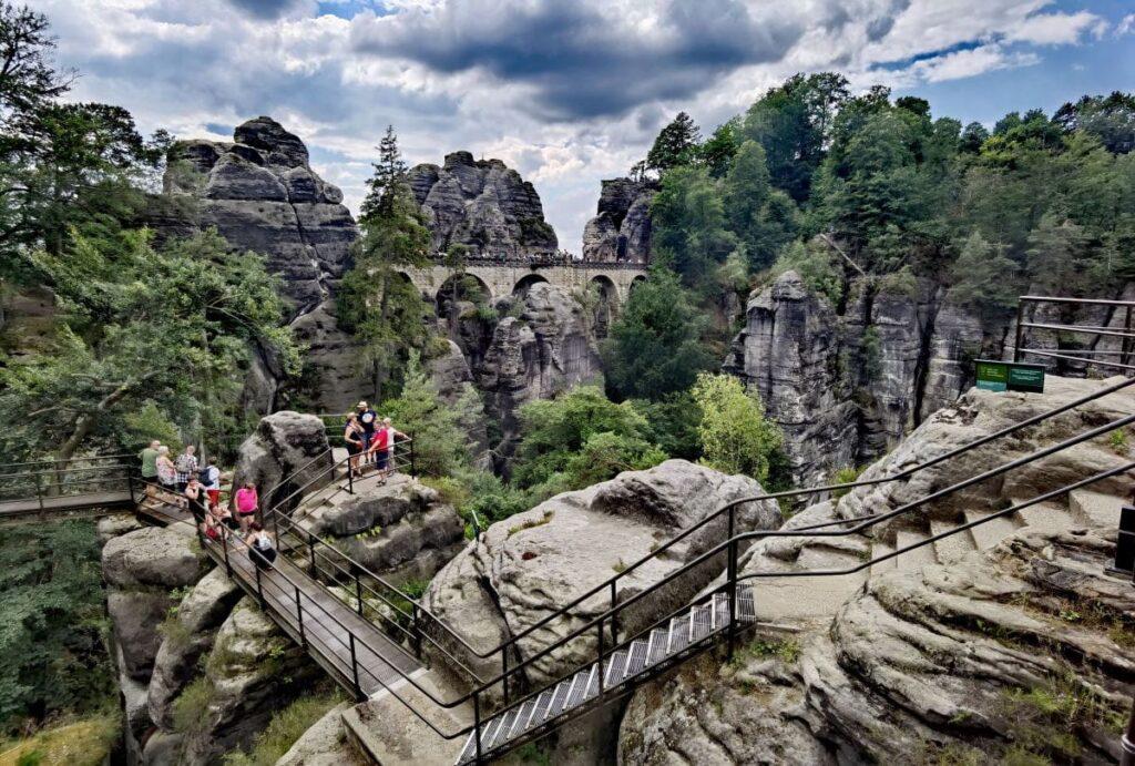 Die schönsten Orte in Deutschland: Die Bastei mit der Basteibrücke